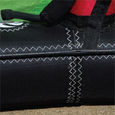 Double stitched multi segment Leading Edge